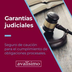 garantías judiciales avalísimo